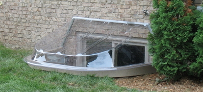 How To Replace A Concrete Block Window Well Doityourself Com