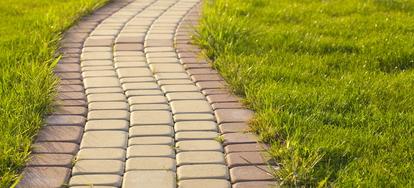 installing brick landscape edging step by step doityourself com