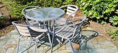 How To Paint Glass Patio Table Tops How To Paint Glass Patio Table Tops