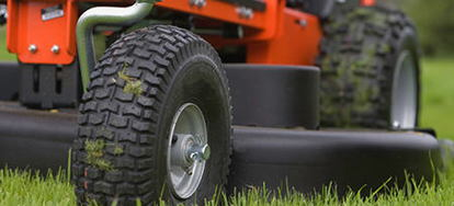 change  riding lawn mower tires doityourselfcom