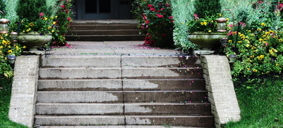 10 options for fixing slippery concrete steps