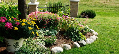 ... When Designing The Layout For Your Yard Or Garden. There Are Several  Different Edging Types Available, Such As Stone, Plastic, Brick, Or Metal.