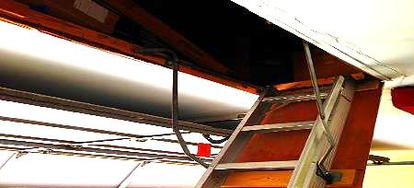 Making Your Own Attic Stairs Insulation Cover Making Your Own Attic Stairs  Insulation Cover