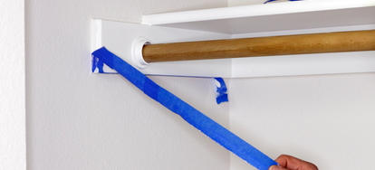 Blue Painter S Tape Is A Light Masking Designed To Protect Painting Jobs And Keep Lines Crisp Clean It Also Prevents The Smearing Spilling Of