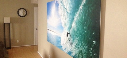 how to turn a wallpaper mural into a large scale hanging picturewhat you\u0027ll need