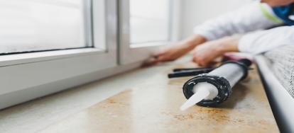 Keeping Silicone Caulking Clean | DoItYourself com