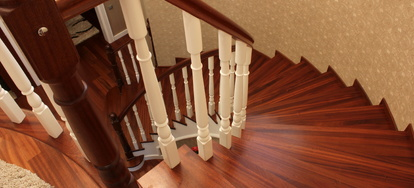 How To Build Wooden Spiral Stairs Doityourself Com