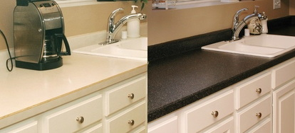 Countertops: Replace or Refinish? DIY or Pro? Problem Countertops ...