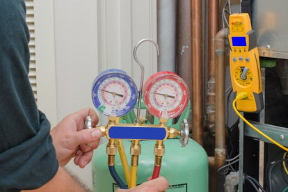 Once All Aspects Are Connected To Your Ac Unit You Can Release The Valve On Freon Container And Allow Coolant Circulate In System Add Only