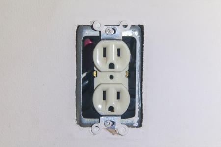 replace a broken outlet doityourself com rh doityourself com Cut in Electrical Box Outlet Stopped Working