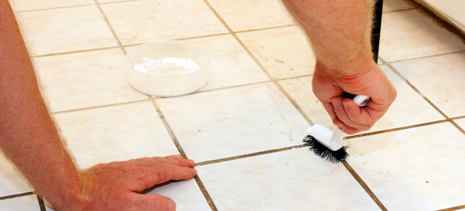 how to clean tile grout | doityourself