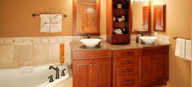 Replacing Versus Refacing Bathroom Cabinets Doityourself Com