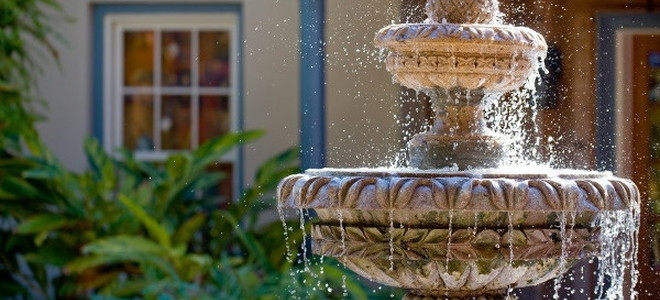 7. Fountain