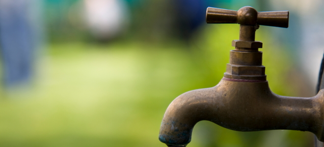 How To Repair An Outdoor Faucet With Low Water Pressure