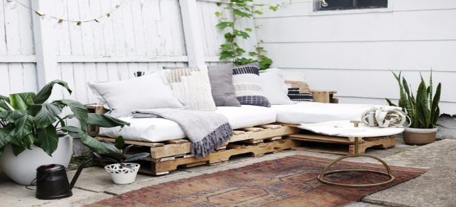 2. Outdoor Couch