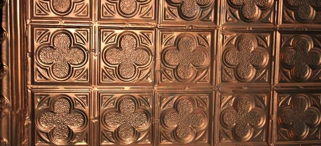 Faux Tin Ceiling Tiles Vs