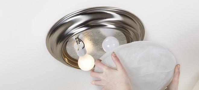 premium selection 6eebd 2f273 Install a Flush Mount Ceiling Fixture | DoItYourself.com