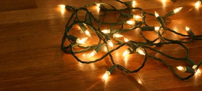 Twinkling Christmas Lights