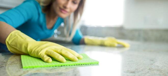 2 Effective Ways To Clean Stone Countertops Doityourself