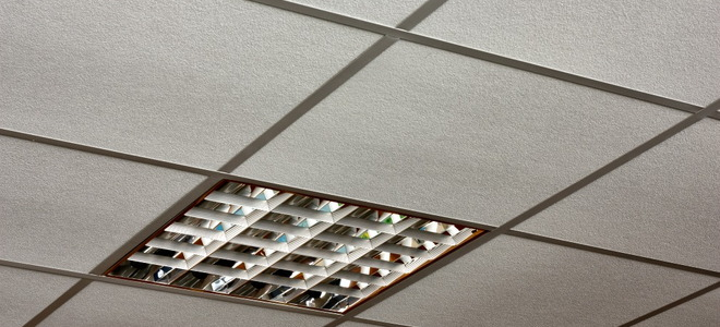 Can Drop Ceiling Tiles Support Recessed