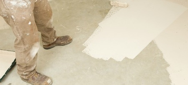 Painting concrete and masonry surfaces for Bleach on concrete floor