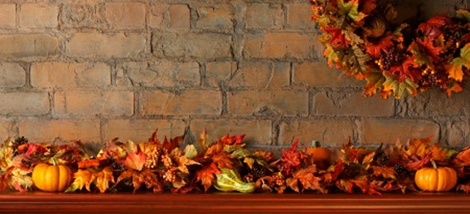 How to Decorate a Fireplace Mantel for Thanksgiving – Thanksgiving Mantel Decorations