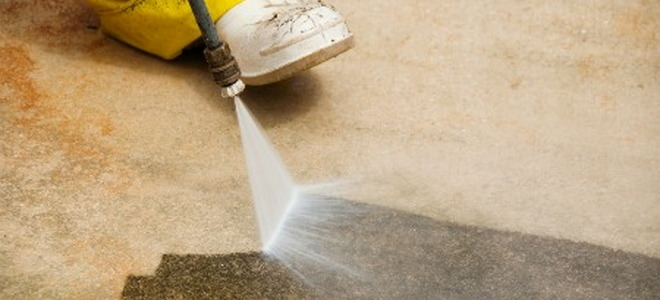 Cleaning paint off concrete for Cleaning stained concrete floors steam mop