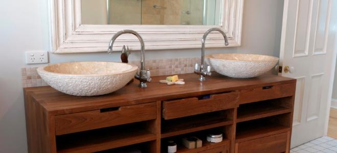 How To Convert A Dresser Into Bathroom Vanity