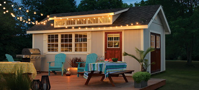 An Outdoor Building Can Do A Lot More Than Store Seasonal Equipment. From A  Personalized Workshop To A Movie Theater Getaway, Building A Dream Shed In  Your ...