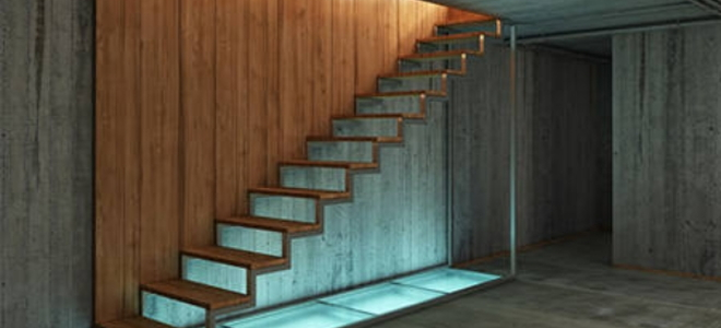 Lighting Basement Washroom Stairs: Planning A Basement Staircase Build