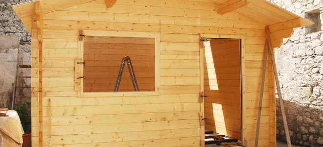 Build A Small Shed For Washers And