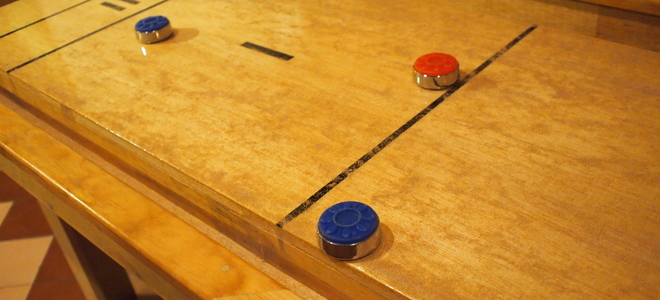 How To Build A Shuffleboard Deck