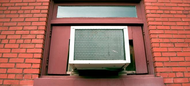 5 tips for installing a window air conditioner bracket. Black Bedroom Furniture Sets. Home Design Ideas