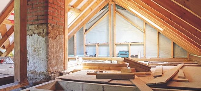 attic home repairs