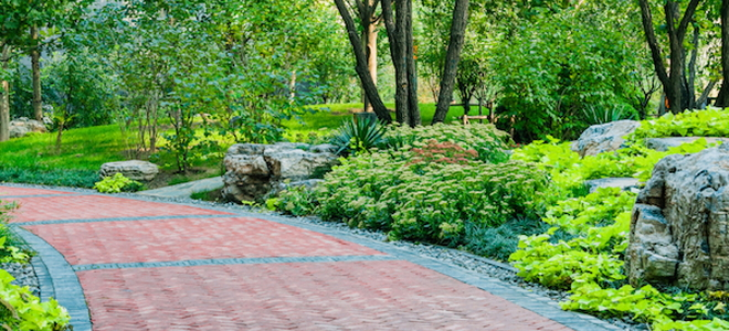 How To Install A Paver Walkway On Slope