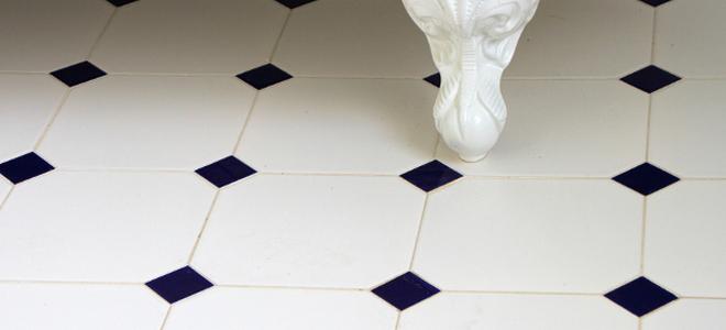 Next Stop: Subway Bathroom Tile for a Vintage Look | DoItYourself.com