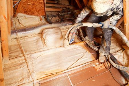 Why Foam Attic Insulation Costs More Doityourself Com