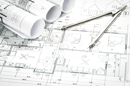 How to calculate the square footage of floor plans for Do it yourself architectural drawings