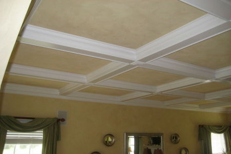 Coffered Ceiling Framing Made Easy Doityourself Com