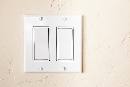 how to replace a double light switch. Black Bedroom Furniture Sets. Home Design Ideas