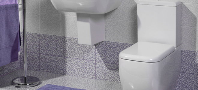 Bathroom With Low Flow Toilet
