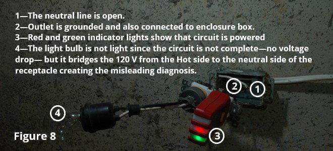 circuit diagram with hot ground reversed