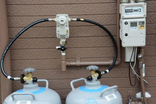 Propane gas hook up