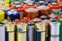 assortment of alkaline batteries