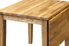 small folding leaf table made from wood