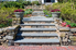 Bluestone steps in a patio area