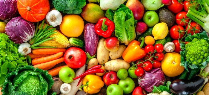 colorful mix of fall vegetables