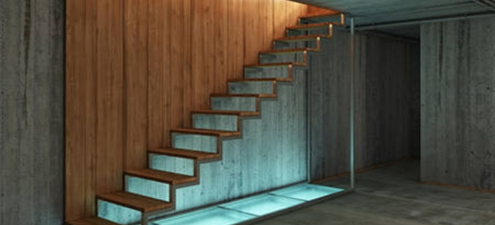 garage landing and staircase planning a basement staircase build doityourselfcom
