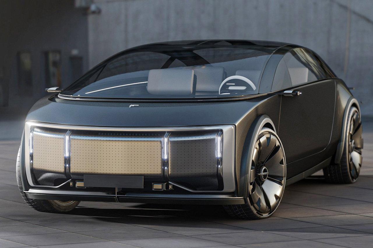 VW Designer Alexis Poncelet Imagines the Future of Autonomous Bentley Limousines