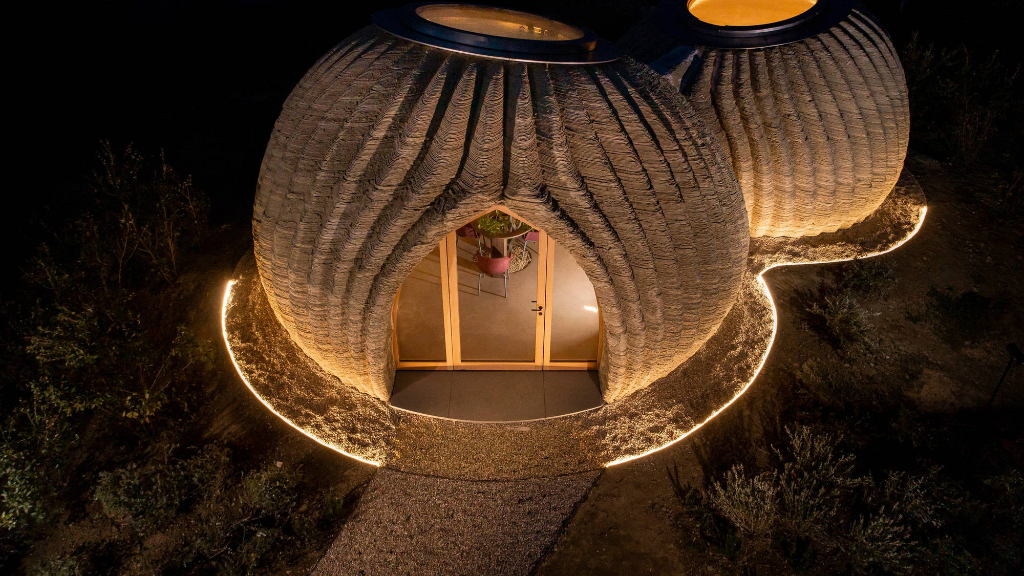 TECLA: A 3D-Printed Dome Home Made of Locally-Sourced Raw Earth